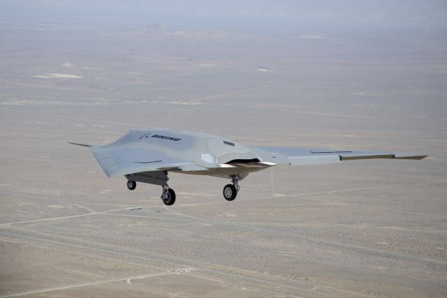 7 Amazing Unmanned Military Aircrafts - Boeing Phantom Ray
