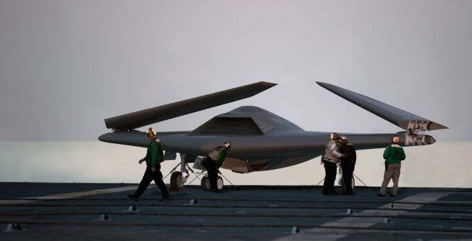 7 Amazing Unmanned Military Aircraft - Lockheed Martin Sea Ghost
