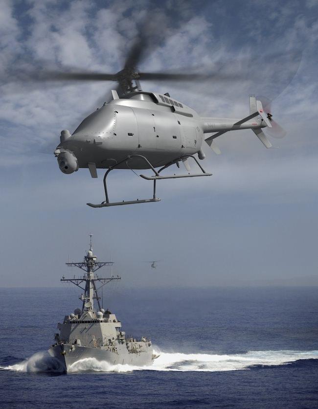 7 Amazing Unmanned Military Aircrafts - Northrop Grumman MQ-8C Fire-X