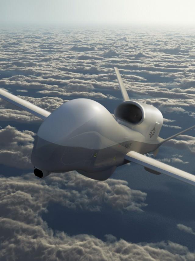 7 Amazing Unmanned Military Aircrafts - Northrop Grumman MQ-4C Triton
