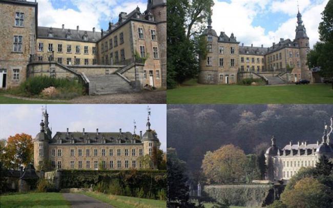 Historic Castle In The Ardennes Luxemburg, Saint-Hubert For $4,005,375