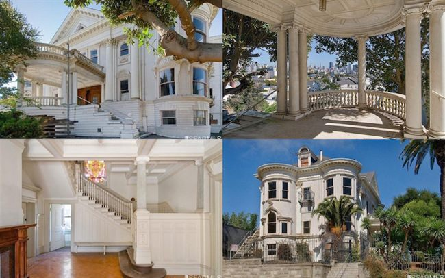 OR, Mansion In Alamo Square for $6,400,000