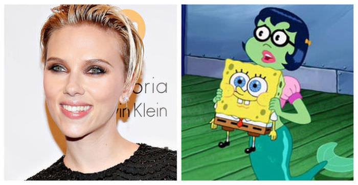 Scarlett Johannsson as Mindy in The SpongeBob SquarePants Movie