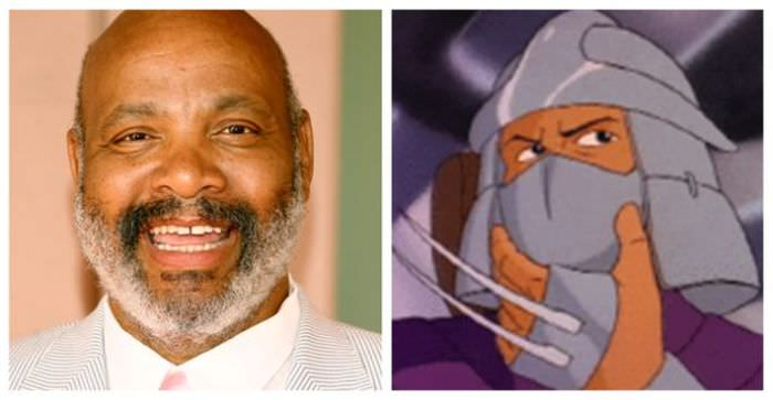 James Avery (aka Uncle Phil) as Shredder