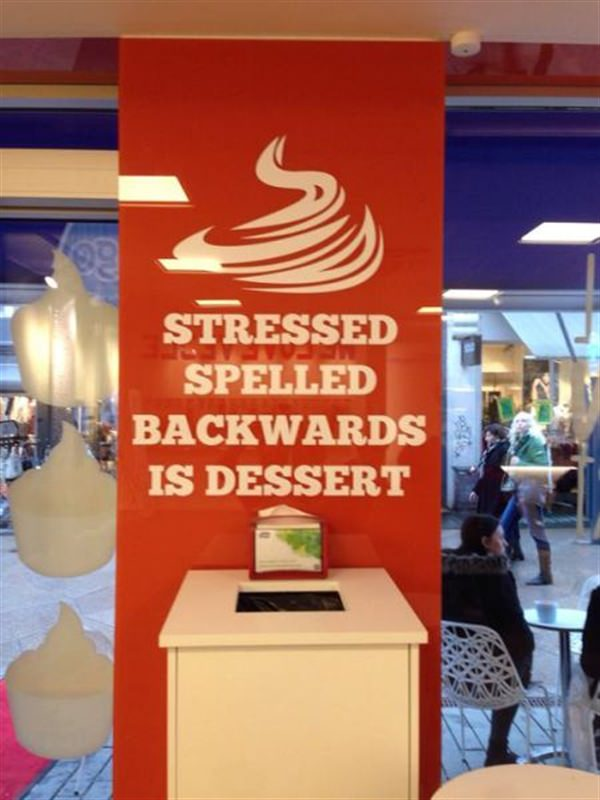 stressed spelled backward is dessert