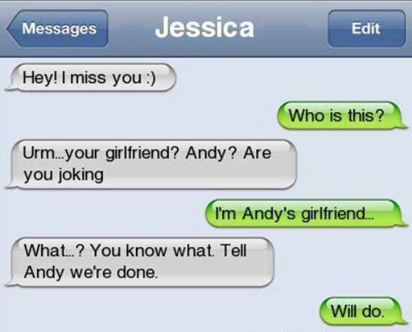 Who is Andy girlfiend