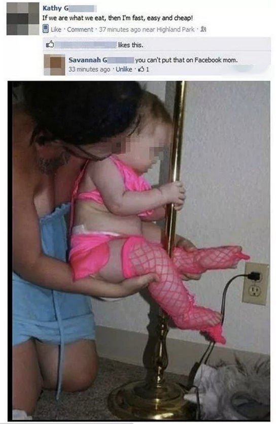 baby pole dancer