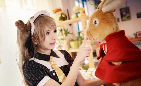 Cute Kotori Minami Cosplay From LoveLive!