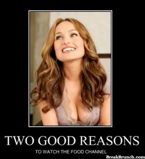 2 reasons why I watch food channel