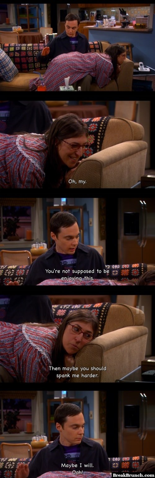 50 shades of Sheldon