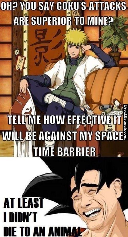 Naruto vs Dragon Ball Z