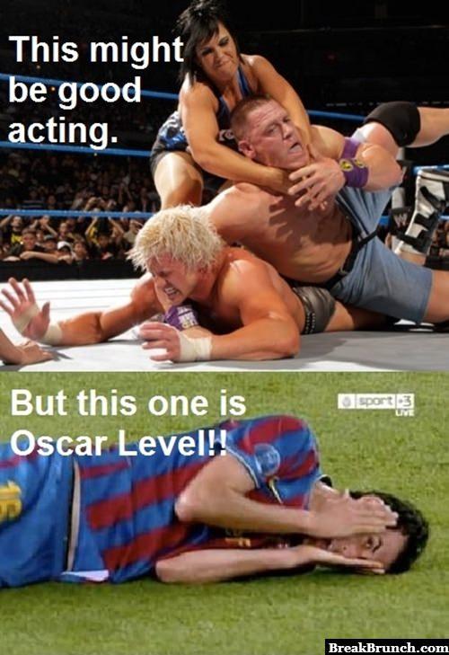 Oscar level acting