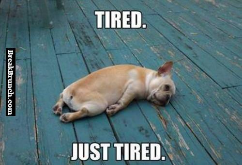 This is me after work