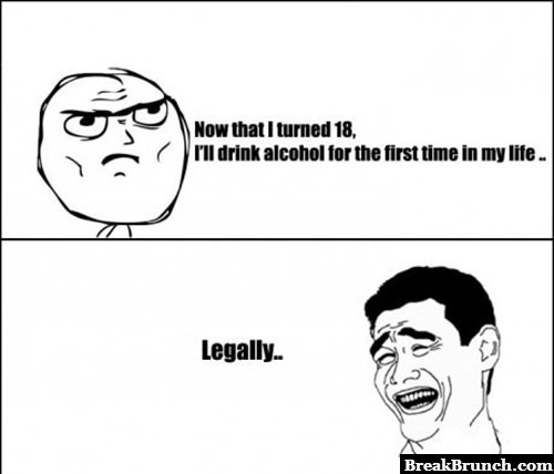 Age has nothing to do with alcohol