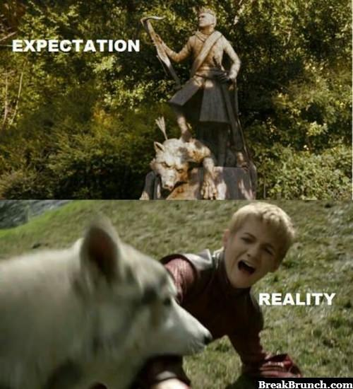 Exception vs reality
