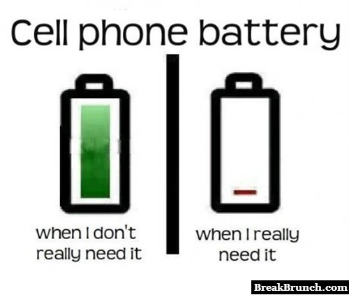 Scumbag phone battery