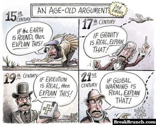 Age old arguments