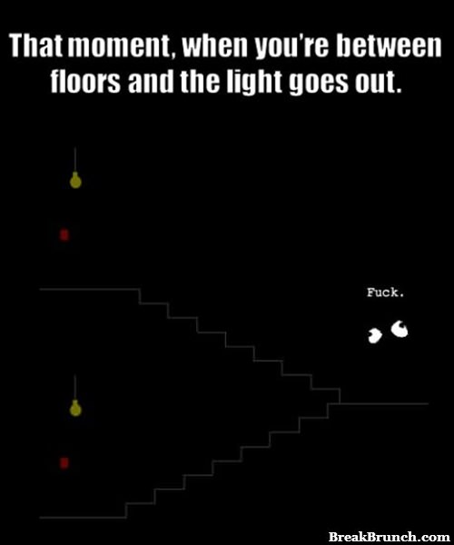 That moment in the dark