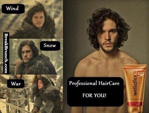 How to get hair like John Snow