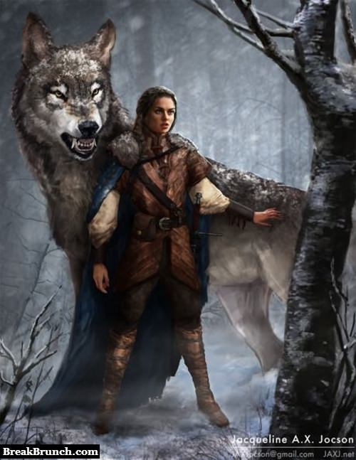 Arya Stark is going to be a badass character in Game of Thrones