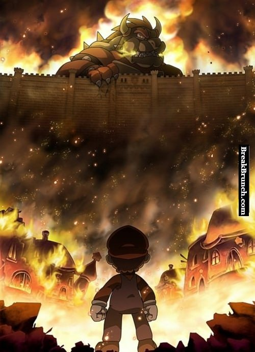 Attack on the mushroom kingdom