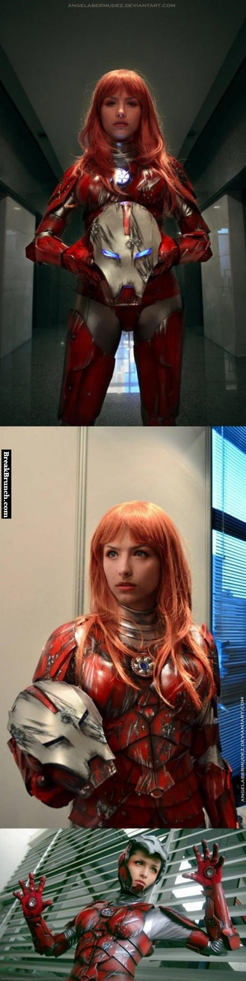 Pepper Potts cosplay