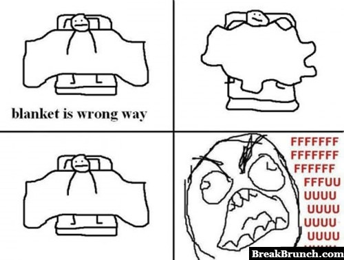Bed time rage