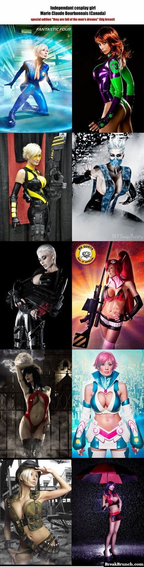 Awesome cosplay by Marie-Claude Bourbonnais