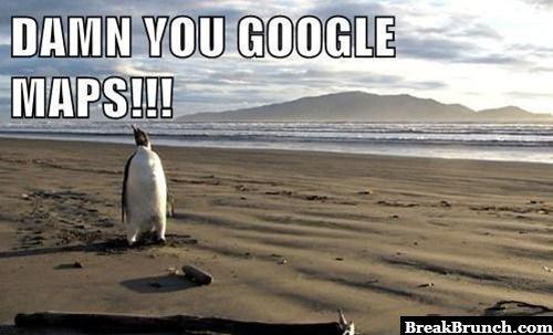Damn you Google map