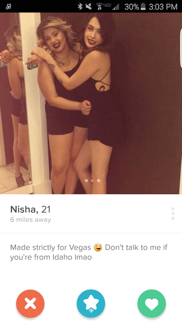 Tinder pictures hot girl 3 Types