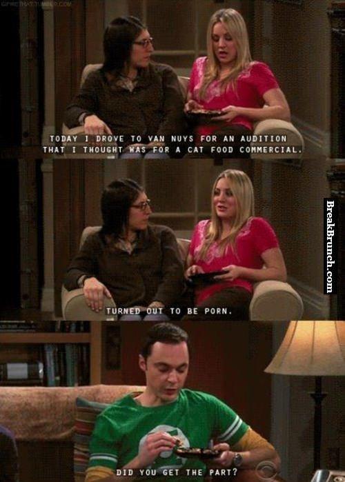 Sheldon Cooper is something else