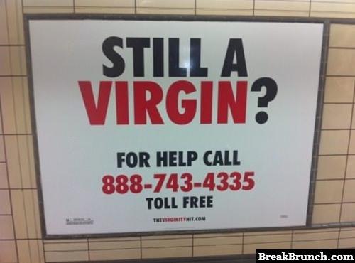Please call virgin hotline