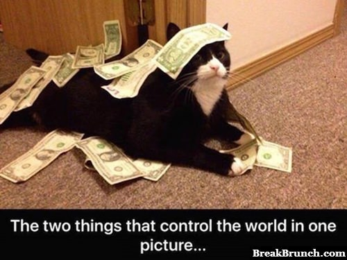 2 things that control the world