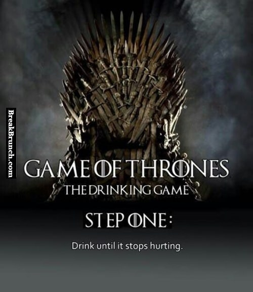 Drinking game, Game of Thrones style