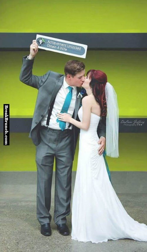 When a gamer gets married