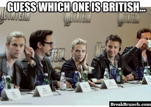 Guess who is British