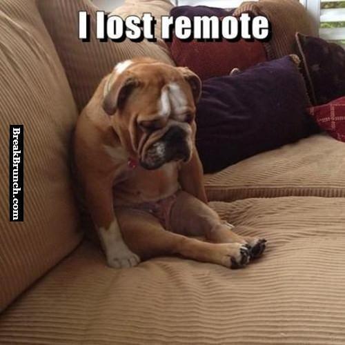 He lost remote control