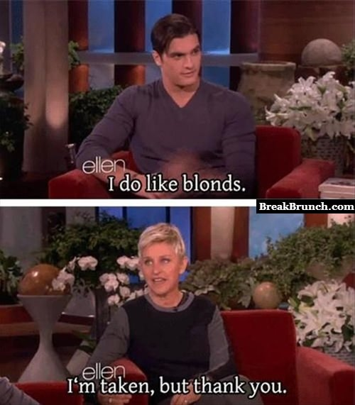 Ellen DeGeneres is awesome