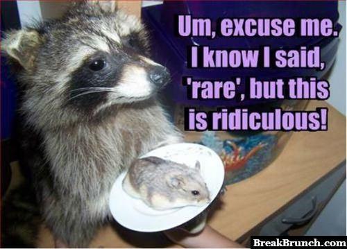 I said rare