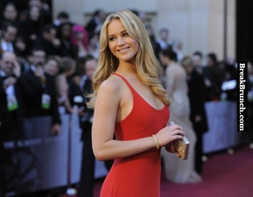 Jennifer Lawrence on red carpet