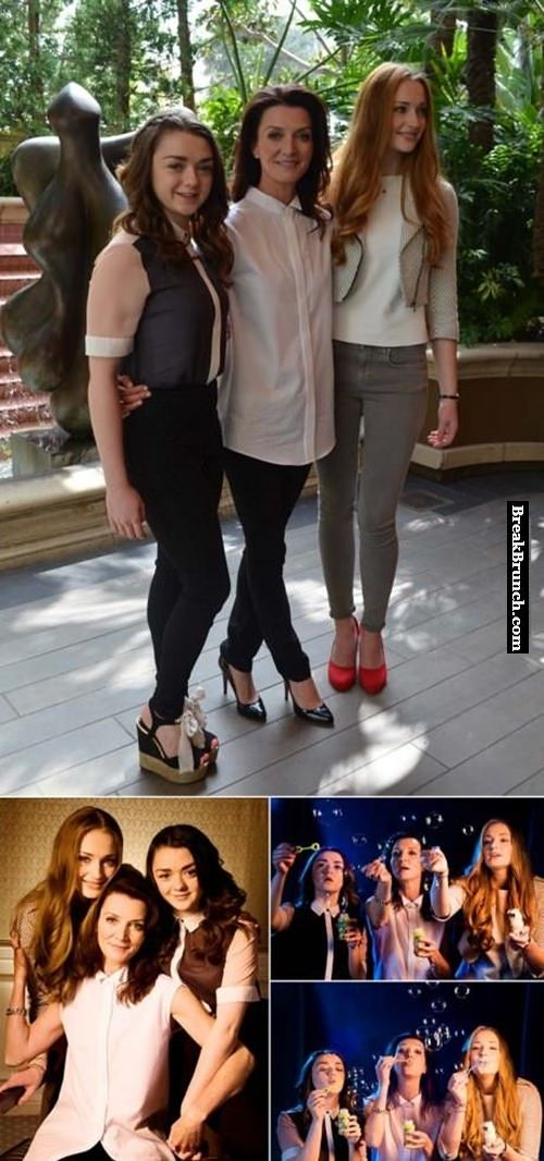 Ladies from house of Stark