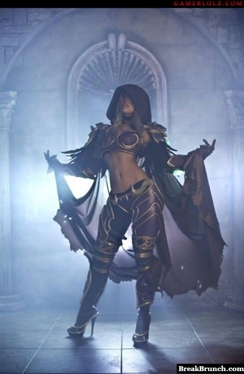 Awesome Lady Lydia cosplay from WoW