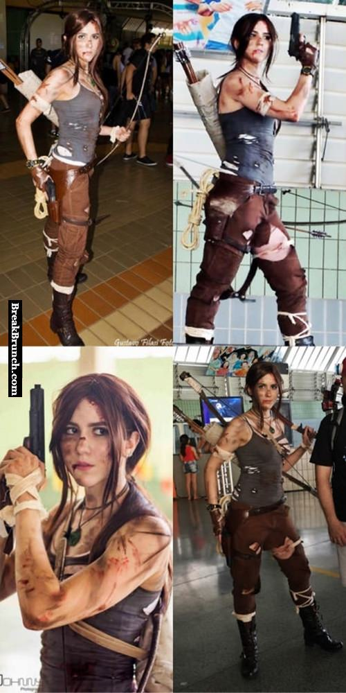 Best Lara Croft cosplay from Tomb Raider game