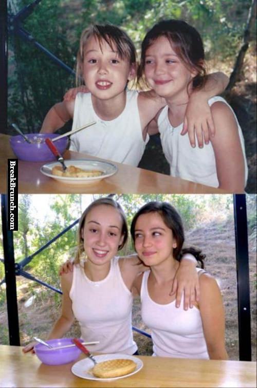 My best friends, 10 years later