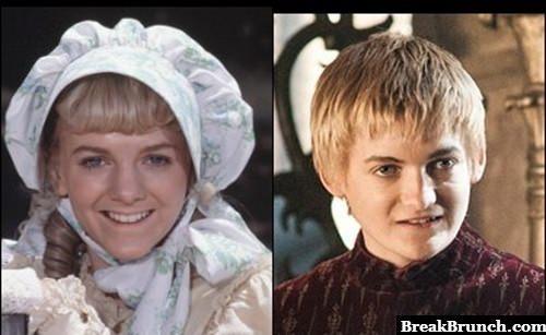 Nellie Olsen Totally Looks Like Joffrey Baratheon