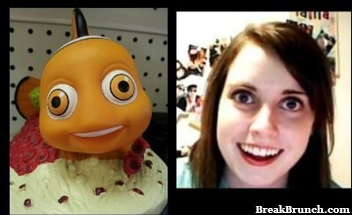 Nemo totally looks like overly atatched girlfriend