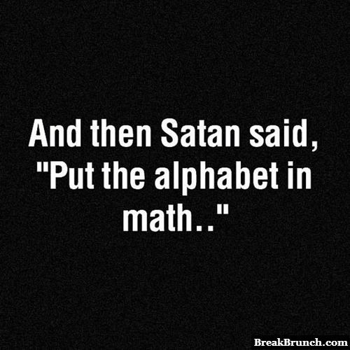 This is why math is hard