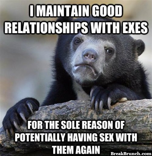 Why I maintain good relationship with my ex
