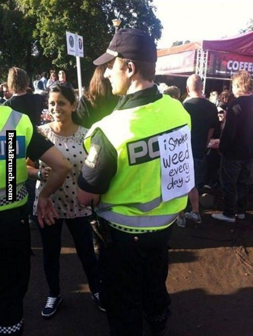 Trolling the police like a boss