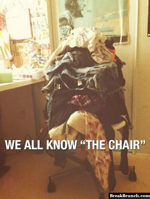 We all have that one chair